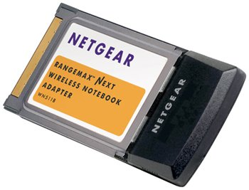 Netgear WGT511T PCMCIA Wireless Ethernet adapter