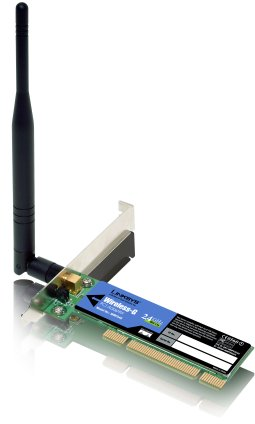 Linksys WPC54GS PCI Wireless Ethernet adapter
