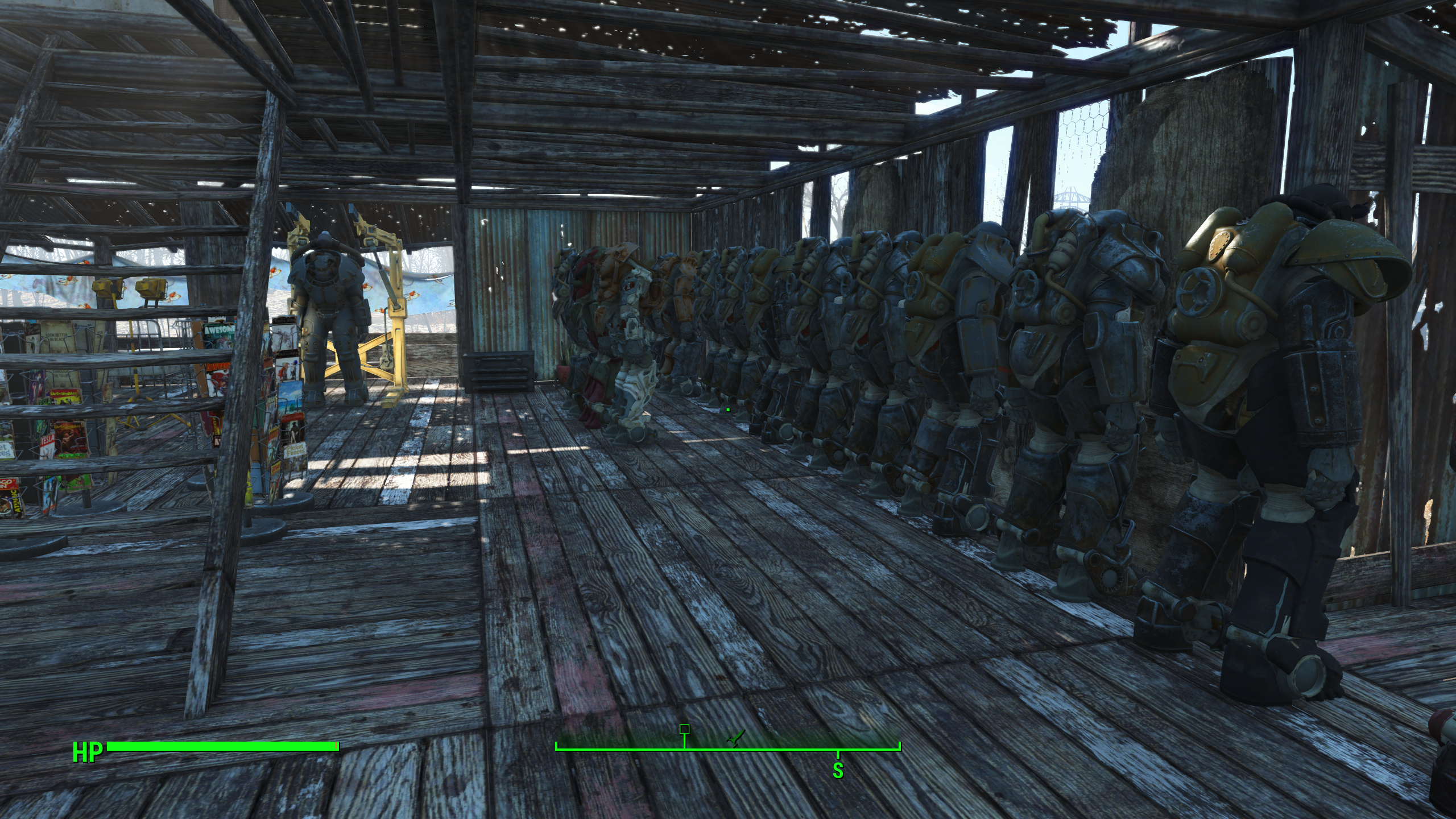 Fallout 4 Sanctuary Roofs Repaired Sanctuary Roofs Fallout